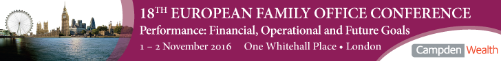 18th European Family Office Conference London Banner